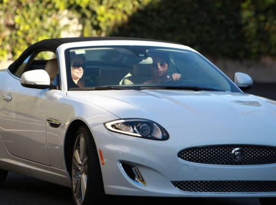 Britney Spears' Jaguar XKS