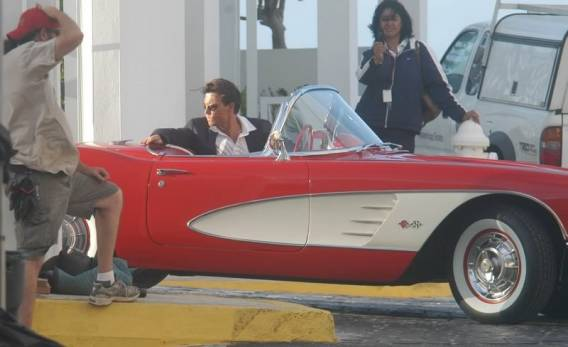 Johnny Depp's 1959 Corvette