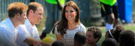 The charitable organization was legally established in September 2009 by the Duke and Duchess of Cambridge and Prince Harry.
