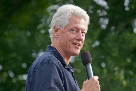Bill Clinton supports Oceana organization