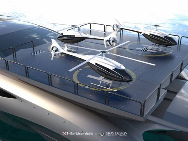 Concept Superyacht Xhibitionist by Gray Design