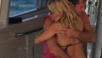 Sienna Miller and Jude Law in Ibiza