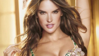 The Brazilian Supermodel Alessandra Corine Ambrósio has now been selected to model the $2.5 million Floral Fantasy Bra in 2012 Victoria's Secret Fashion Show.