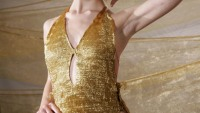 A gold swimsuit worth $245,000!