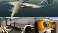 Design Q unveils their latest ABJ Elegante concept for the Avro Business Jet