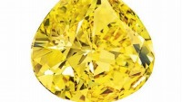 A rare 32-carat yellow diamond estimated to fetch $8M at Christie's auction