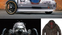 Morgan & Superdry partner to create limited edition Morgan 3 wheeler and clothing