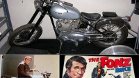 Bonhams to auction Fonzie's Triumph Motorcycle from 'Happy Days'