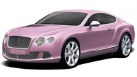 "Symbolic Motors to Unveil one-of-a-kind ""Passion Pink"" 2012 Bentley Continental GT"