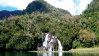 Savage Jungle Island with 26 waterfalls up for sale