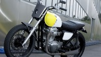 Kawasaki W800 limited edition bike by Philippe Starck
