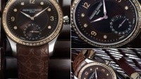 Frederique Constant seduces ladies with Maxime Manufacture Automatic Lady Chocolate watch