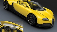 Bugatti unveils 3 models of the Grand Sport convertible for the Dubai Motor Show