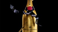 Moët & Chandon presents hand-customised Golden Premium Jeroboam for champagne lovers