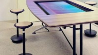 Wilkhakhn Touchscreen conference tables for hi-tech offices