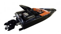 St. Martin Power Boats introduces Harley Davidson powered F-15 mini speed boat