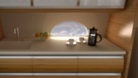 Compact kitchen concept