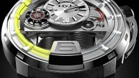 Vincent Perriard HYT H1 watch uses advanced hydraulics to display time