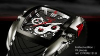 Limited edition Cyrus Kuros Historic Grand Prix of Monaco watches look as sporty as the race cars