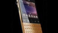 Porsche Design BlackBerry P'9981 dipped in 24ct gold