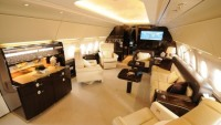 Airbus ACJ318 business jet boasts world's tallest cabin