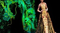 Guo Pei lavish wedding dresses for wealthy Chinese Brides