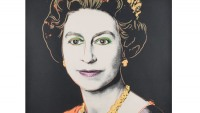 Rare Queen Elizabeth II Portrait by Andy Warhol to be auctioned at Bonhams