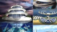 Amphibious 1000 semi-submerged luxury hotel resort