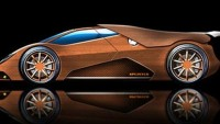 World's first wooden supercar in the wilds!