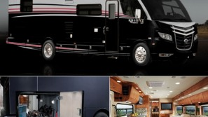 New 2011 Monaco Vesta 32 PBS: Sleek & stylish luxury coach