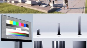 Porsche Design Studio unveils world's largest LED TV for outdoor theaters