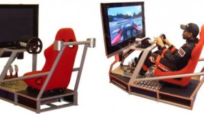 BRD's Pro RaceTrainer turns your room into real motor track