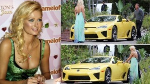 Paris Hilton gets a $375,000 Lexus LSA for her 30th birthday