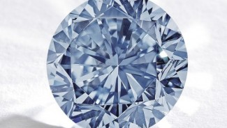 Premier Blue: The Largest Round Fancy Vivid Blue Diamond for Sale