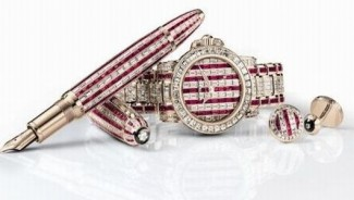 Montblanc's limited edition Ruby Set for Eid