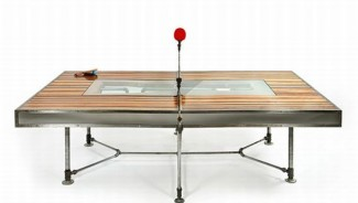 Pingtuated Equilibripong retro table will bring back the old world charm into ping-pong