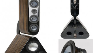 Status Acoustics 8T speakers stand tall in the war of electronics at CES 2012