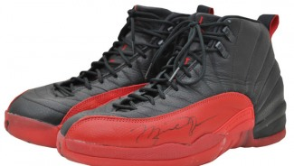 Michael Jordan's 'Flu Game' sneakers sell in an auction for $104, 000
