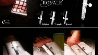 CBrace by S. Royale is world's first 'edge-defining-cuff' embellishment and alternate to cufflinks