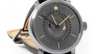 Ochs und Junior Moon Phase Patina is the world's most accurate moon phase calculation in a wristwatch