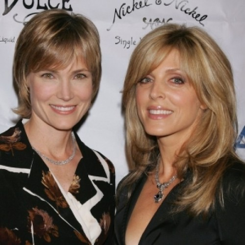 Willow Bay and Marla Maples