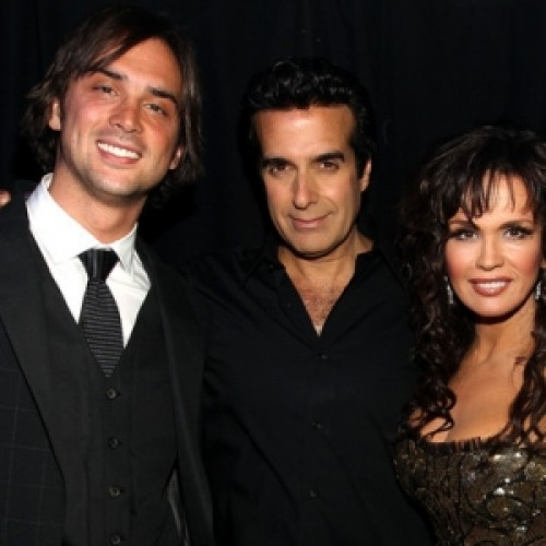 Stephen Osmond, David Copperfield and singer Marie Osmond