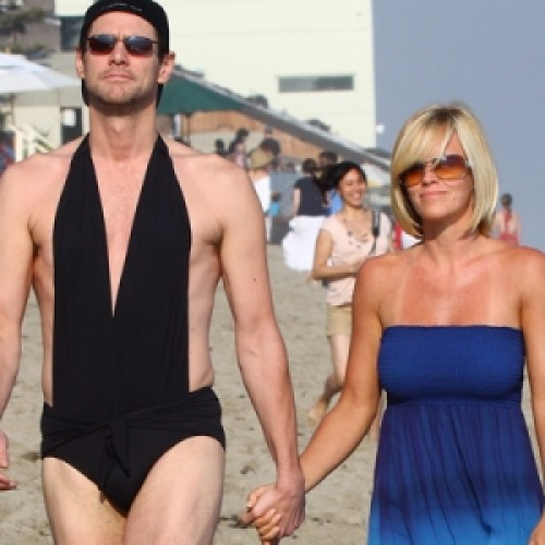 Jim Carrey  with Jenny McCarthy