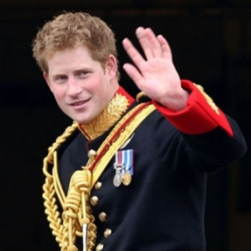 Prince Harry is the younger son of Princess Diana and Prince of Wales Charles.