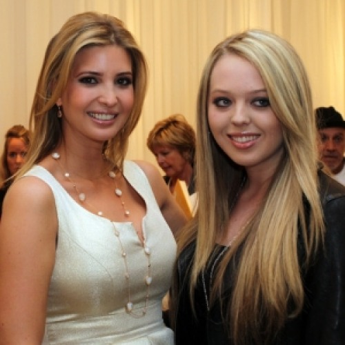 Ivanka Trump and Tiffany Trump