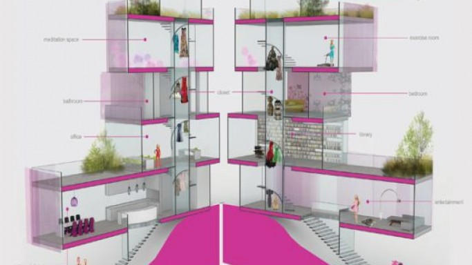 Barbie's dream house life-size version to cost $3.5 Million