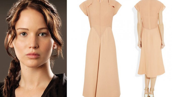 Calvin Klein $5,000 Katniss Dress for The Hunger Games fans