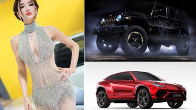 Chinese wealthy loves flashy cars: Beijing Auto Show has SUV's and special edition cars galore