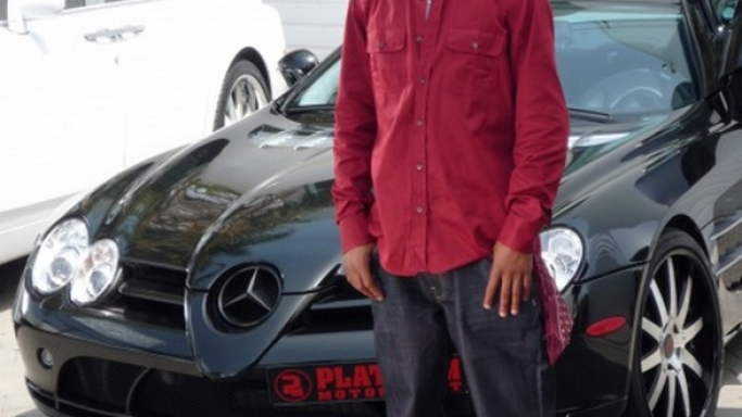 Another stylish vehicle owned by T.I is the Mercedes-Benz SLR McLaren.