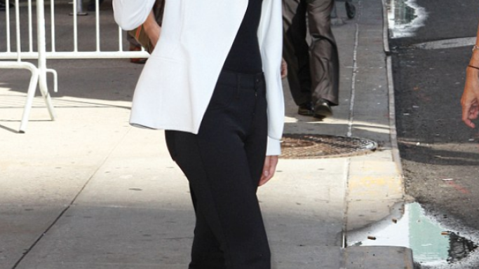 Emma Watson was spotted in this stylish Tom Ford wedges